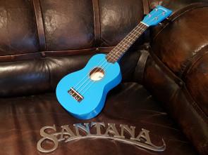 Santana Sopran Ukulele - Blå
