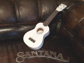 Santana Sopran Ukulele - Hvid