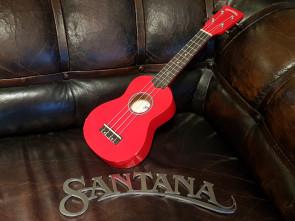 Santana Sopran Ukulele - Rød