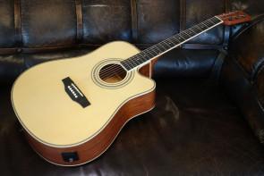 Santana LA-100 Natur Western Guitar