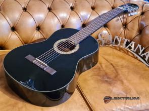 Santana 4/4 Klassisk begynder Guitar i sort