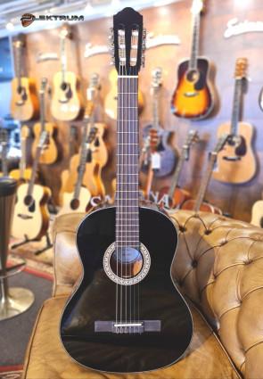 Santana 3/4 Klassisk begynder Guitar i sort