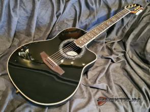 Santana Ovation model western guitar
