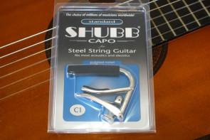 Shubb C1 Capo til western guitar