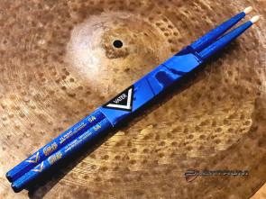 Trommestikker Vater 5A  Blue Sparkle