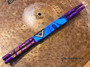 Trommestikker Vater 5A i Purple Sparkle