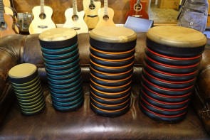 Trommus E2u sæt 4 stk. høje trommer