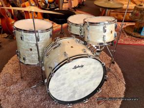 **ON-HOLD** WFL / Ludwig Vintage 1948'  trommesæt i White Marine Pearl