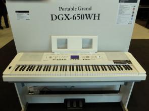 Yamaha DGX-650 Klaver / keyboard - Hvidt