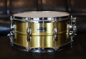 Yamaha nye Recording lilletromme 7x13 i Messing