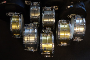 Yamahas ultra fede nye snares.... Ny Recording Serie lilletrommer