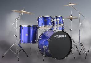 Yamaha Rydeen trommesæt i Fine Blue m/ bækkener