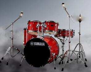 Yamaha Rydeen trommesæt i fræk Hot Red