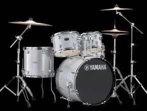 Yamaha Rydeen trommesæt i Silver Glitter m/ bækkener