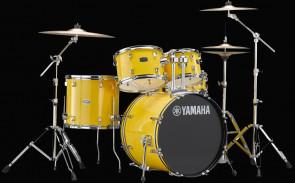 Yamaha Rydeen trommesæt i Mellow Yellow m/ bækkener
