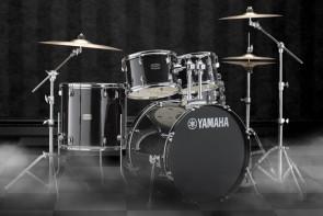 Yamaha Rydeen trommesæt i Black Glitter m/ bækkener