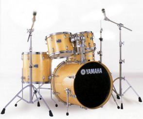 Yamaha Stage Custom trommesæt i Natur m/stativer