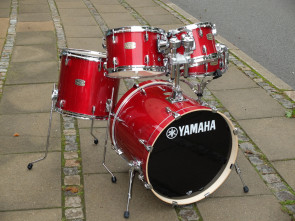 Yamaha Stage Custom trommesæt - Cranberry