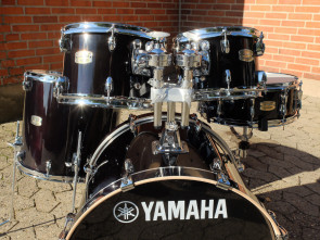 "Yamaha Stage Custom Birch trommesæt 20"" i Raven Black"