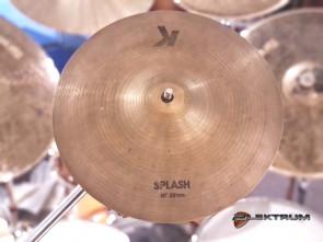 """Zildjian K 10"""" Splash bækken - Brugt"""